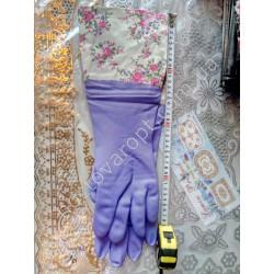 Ш1496 Перчатки резиновые высокие