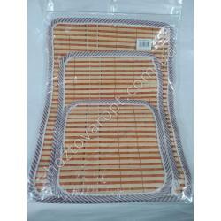 Ш1693 Подставки бамбук (3 шт)