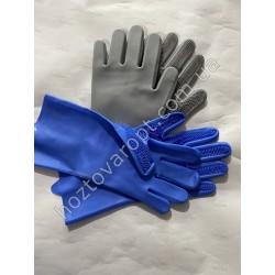 Ш1411 Силиконовые многофункциональные перчатки для мытья посуды