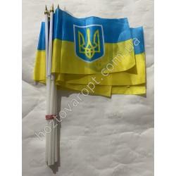 "Ш1867 Флаги ""Украина"" на присосках"
