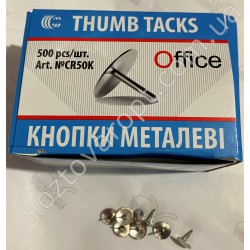 Ш1884 Кнопки металлические гвоздик