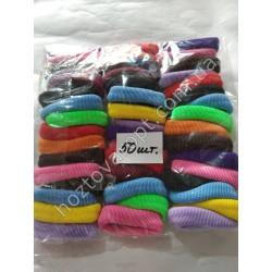 Ш1967 Резинки цветные для волос (50 штук)