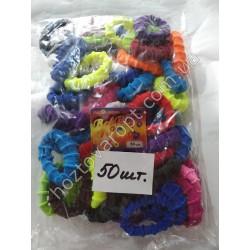 Ш1969 Резинки цветные для волос (50 штук)
