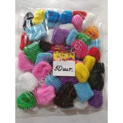 Ш1973 Резинки цветные для волос (50 штук)