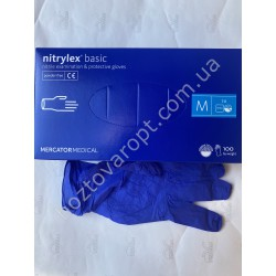 Ш2126 Медицинские перчатки Nitrylex (М) 100 штук