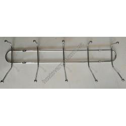Ш462 Вешалка металлическая 5 крючков