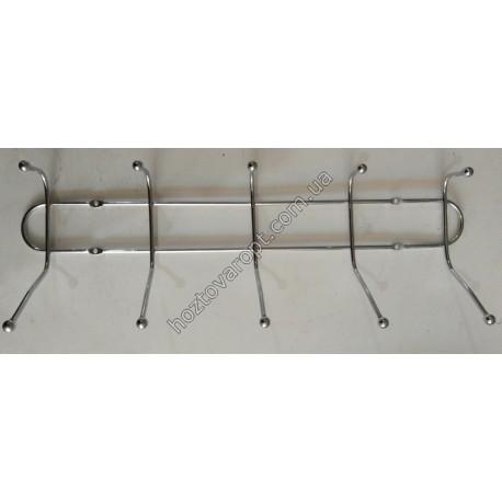 Ш463 Вешалка металлическая 6 крючков