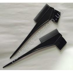 Ш493 Кисточки для окраски волос с расческой