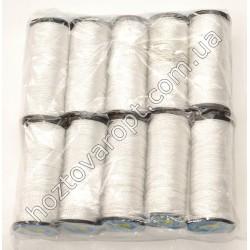 Ш84 Набор капроновых белых ниток